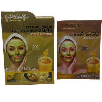 Masker Qiansoto Gold / Masker Wajah Qiansoto - 3sachet