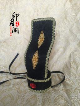 Menteri Cina gaya pernikahan topi hiasan kepala