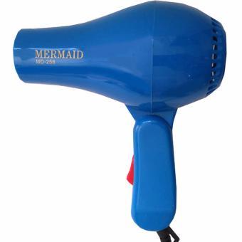 Harga Mermaid Hair Dryer Mini Lipat MD-258-B Alat Pengering Rambut Portable Instant Cepat Gagang Bisa Dilipat Mudah Dibawa Kemana-Mana Cocok Untuk Travelling Jalan-Jalan Praktis Ringkas Disimpan Stylish – Biru Murah
