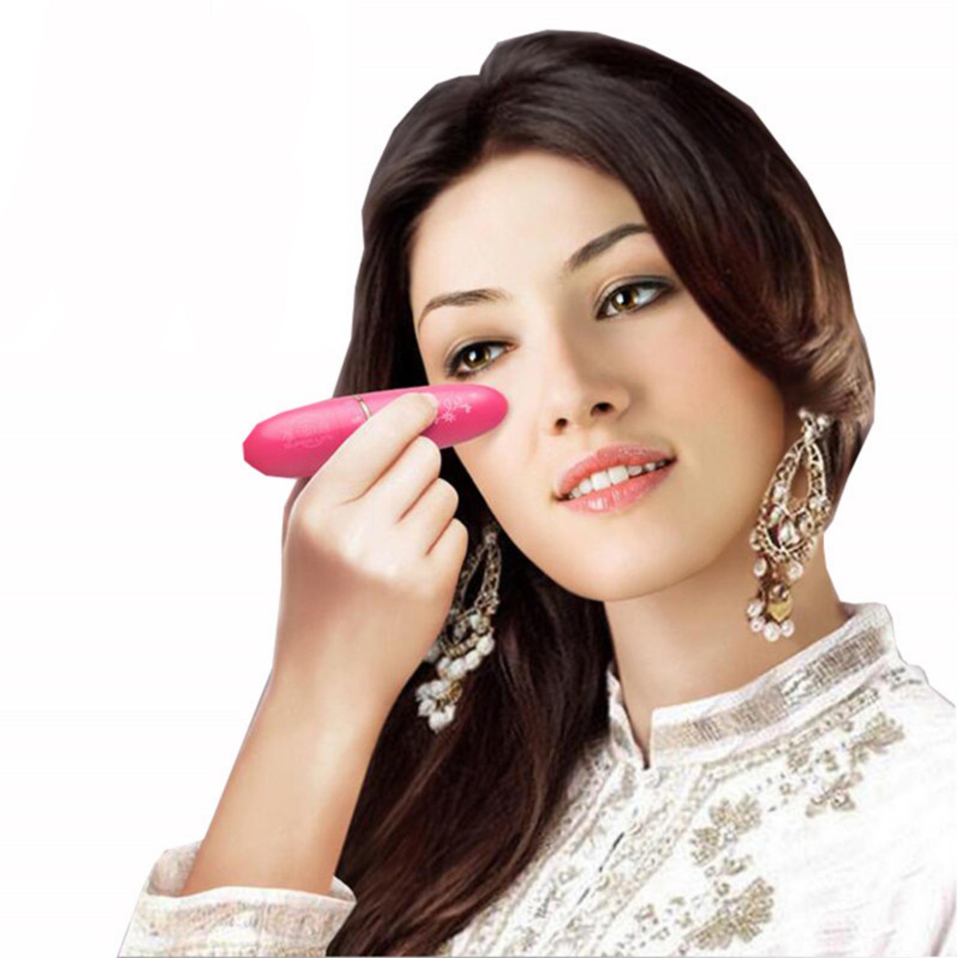 Mini Massager Face Facial - Alat Pijat Wajah & Mata Elektrik Alat Pijat Elektrik Alat Kecantikan Untuk Memijat Wajah Alat Mengencangkan Otot - Warna Random
