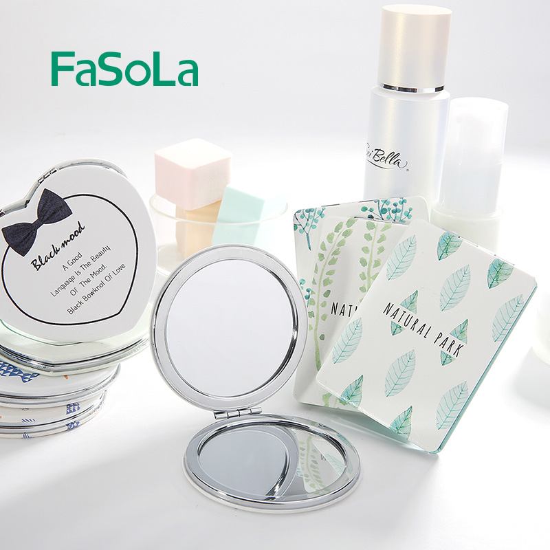 Flash Sale Mini wanita makeup portabel cermin rias cermin