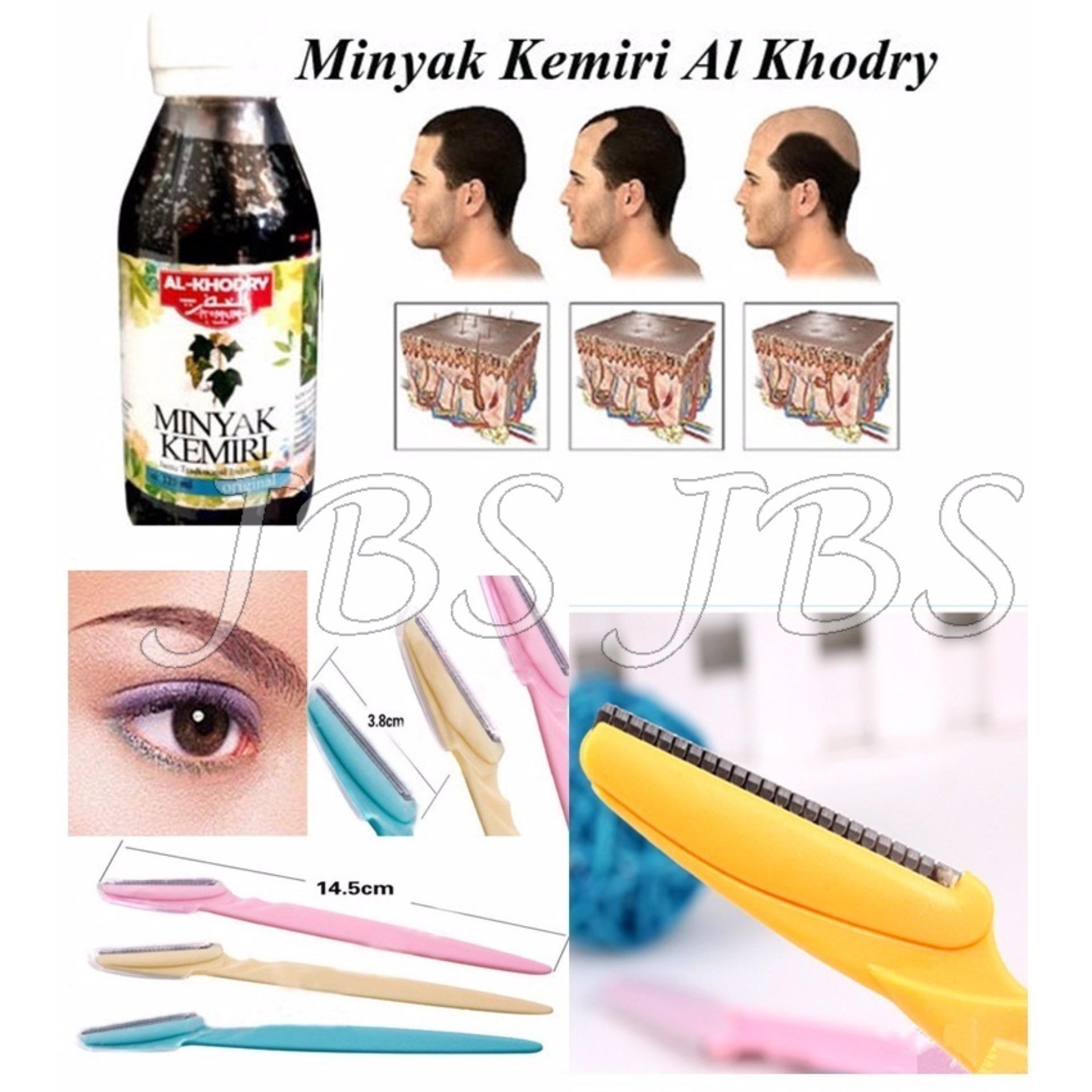 perbandingan harga minyak kemiri al khodry - penumbuh rambut - 125ml Merk Minyak Kemiri Penumbuh Alis