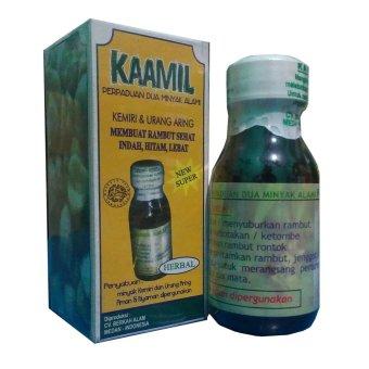 Harga Minyak Kemiri Plus Urang Aring Kaamil -1 Botol Murah