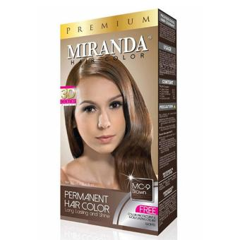 Miranda Hair Color Mc 9 - Brown