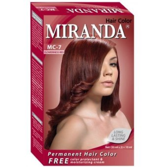 Miranda Hair Color Mc7 - Flowerness Red