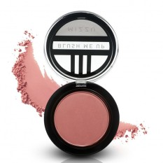 Mizzu Blush Me Up (Coral Flush) - Pemerah Pipi  Blush On