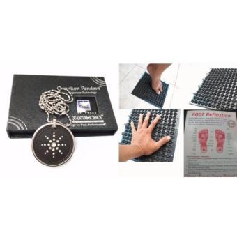 MJstore - Paket Sehat Kalung Quantum Pendant Plus Karpet Terapi