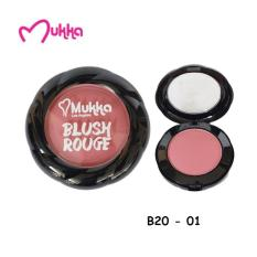 Mukka Blusher Blush On / Perona Pipi B20-1 BPOM