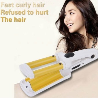 Harga Multi Purpose Mini Hair Curler Hair Curling Dual-Purpose (Yellow)(OVERSEAS) – intl Murah