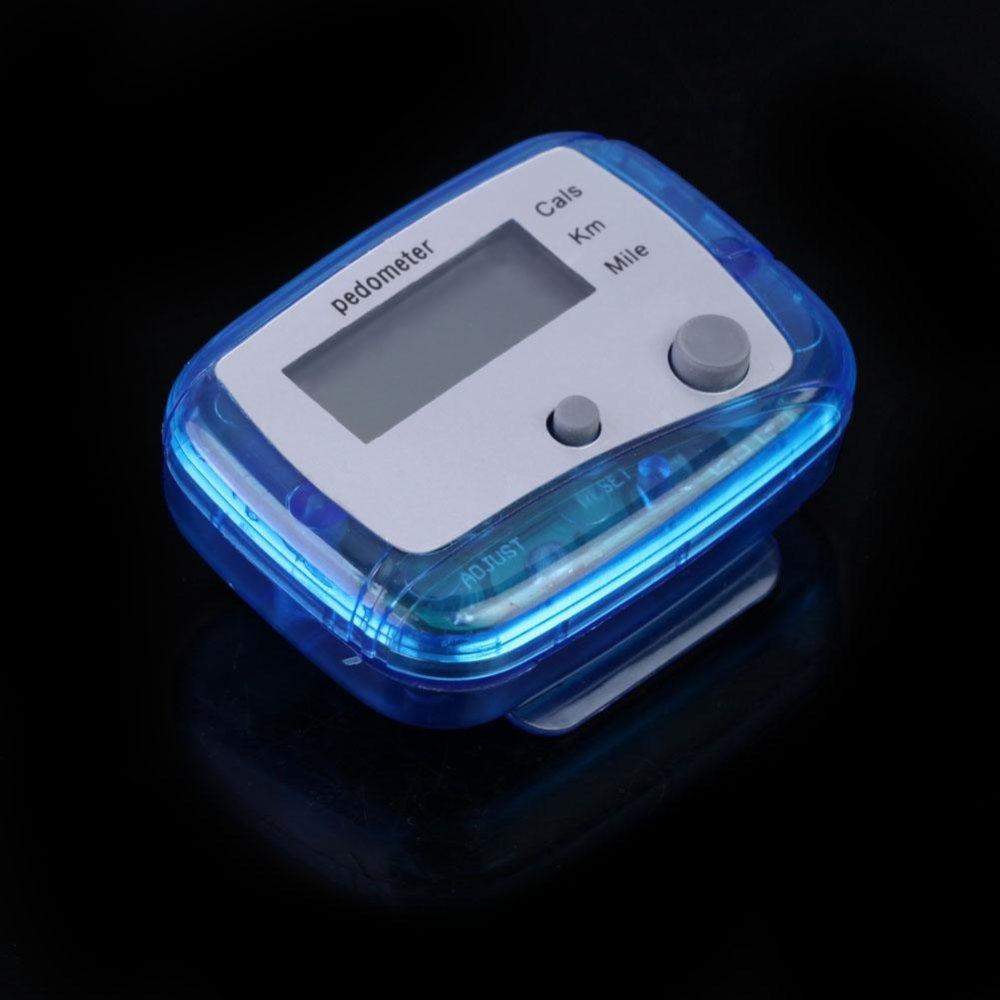 Multifunction Pedometer Walking Distance Calorie Passometer Counter(Blue) - intl .