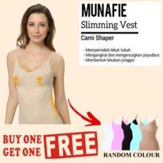 Munafie Atasan Slimming Body Shaper Cream Korset Pelangsing Perut, Dada dan Pinggang Buy 1 Get