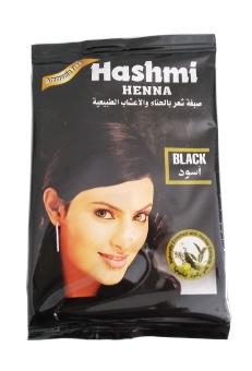Nabawi Semir Rambut Hashmi Henna - Hitam