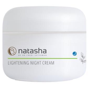 Natasha By Dr. Fredi Setyawan Lightening Night Cream