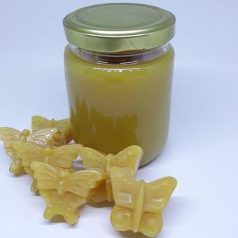 Natural Brazilian Hard Wax 220 gram in jar