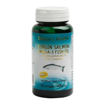 Harga Natural Health Virgin Salmon Omega3 L.50s