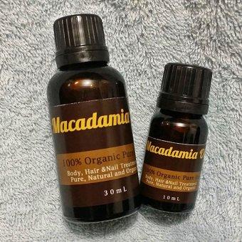 Harga Natural Hut – Macadamia Oil Murni Untuk Rambut Dan Kulit – 10ml Murah