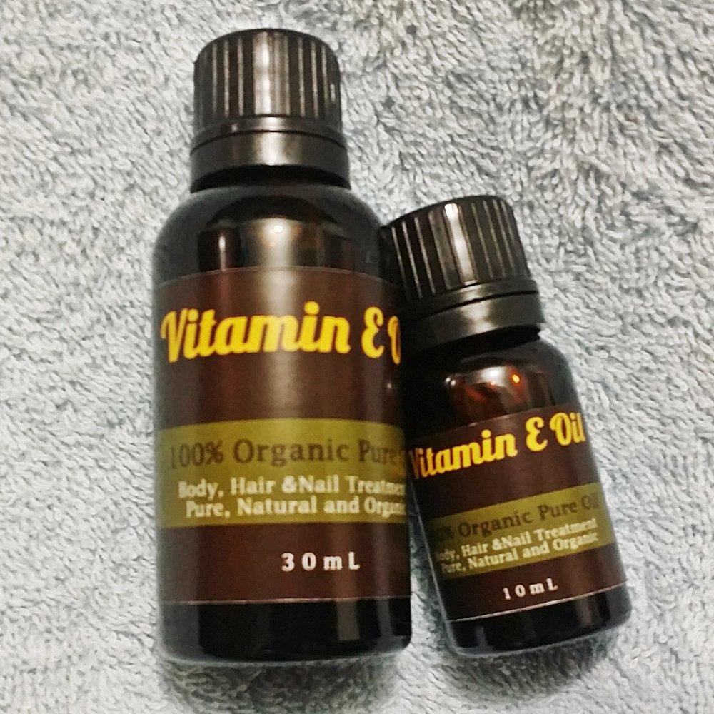 Flash Sale Natural Hut - Natural Vitamin E Oil Untuk Rambut Dan Kulit - 30ml