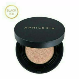 (No. 23 - NATURAL BEIGE) April Skin Magic Cushion Black 2.0