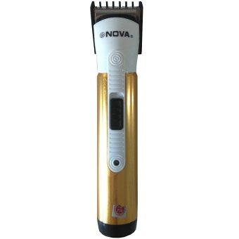 Nova Alat Cukur Kumis Rambut Jenggot Portabel Hair Trimmer 405 Pakai Baterai Battery Bisa Dicharge Rechargeable