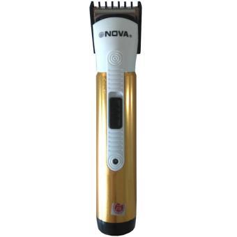 Harga Nova Alat Cukur Rambut – Professional Hair Clipper – 6013 – Coklat Murah