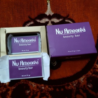 Nu Amoorea Beauty Bar Original PT. DEP / Sudah BPOM 1 bar 25gr
