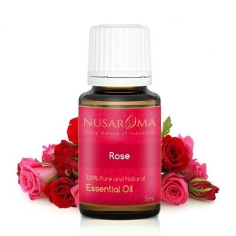 Nusaroma Rose Alba Essential Oil / Minyak Mawar - 5 mL