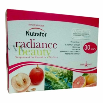 Nutrafor Radiance Beauty isi 30caps