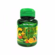 Nutrimax C+ Phytogreen 30's - C Plus, Vitamin C, Mencegah flu, Meningkatkan Daya Tahan Tubuh, antioksidan