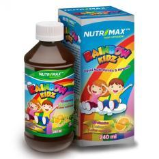 Nutrimax Rainbow Kidz 240 Ml - Pertumbuhan Tulang Dan Gigi, Otak Dan Sistem Saraf, Meningkatkan Daya Tahan Tubuh