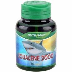 Nutrimax Squalene 2000 30's - Minyak Ikan Hiu, Fish Oil, Meningkatkan Daya Tahan tubuh, Kram Otot, Suplemen Untuk Kanker