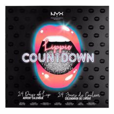 nyx make up lippie countdown advent calendar 24 lipstick surprises
