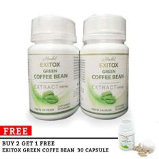 Obat Exitox Original Hendel Asli Green Coffee Bean