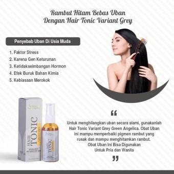 Obat Uban Permanen Paket Penghitam Rambut Uban Secara Permanen Ampuh (Mengatasi Uban Parah) - 4