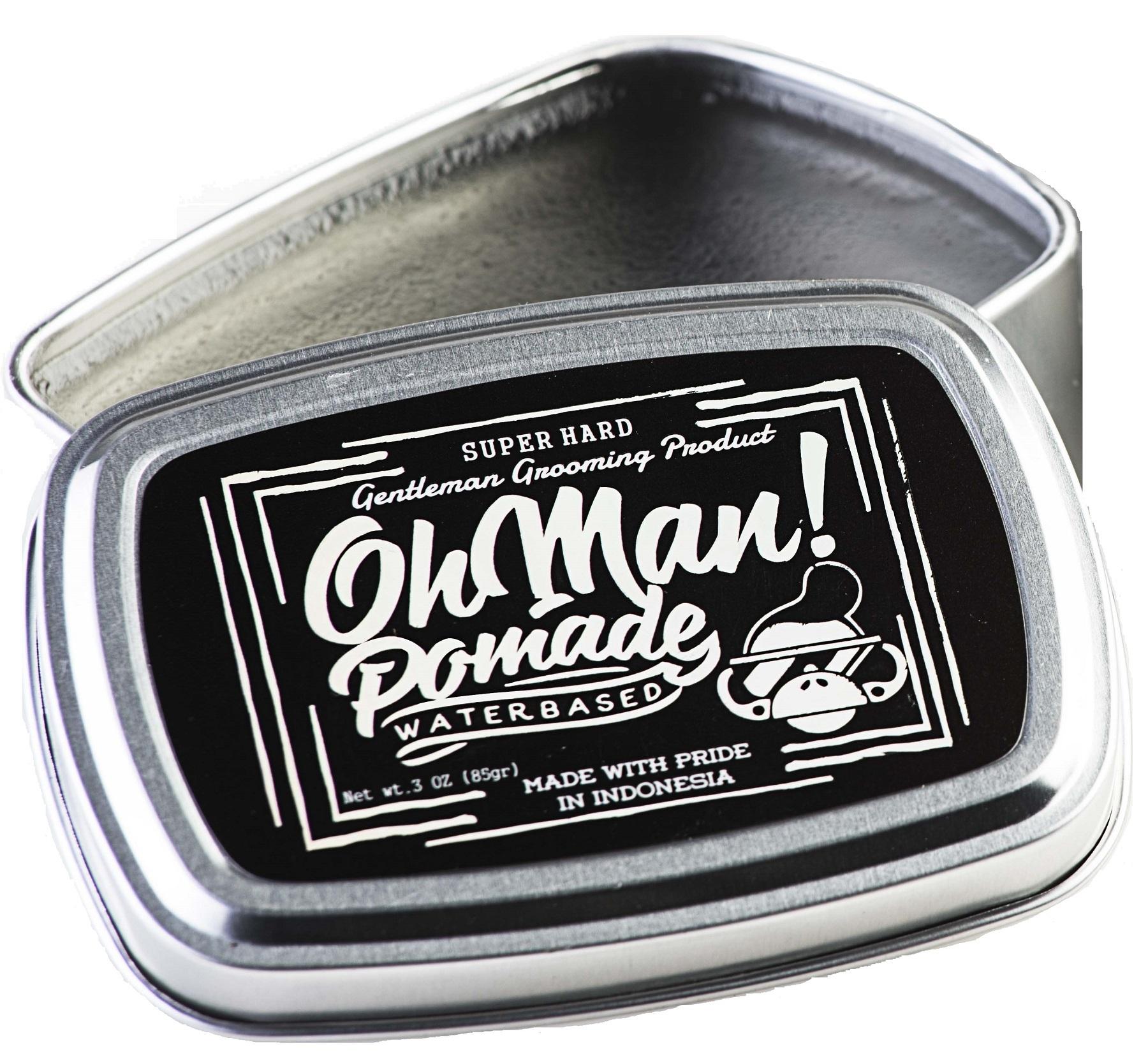 ULASAN Oh Man Pomade –  Mystic Grey Terpopuler