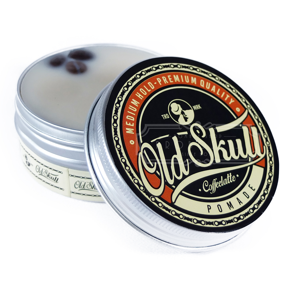 PROMO..! Oldskull Medium Hold Coffeelatte Pomade Terlaris