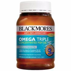 Omega Triple Concentrated Fish Oil - 150 Kapsul