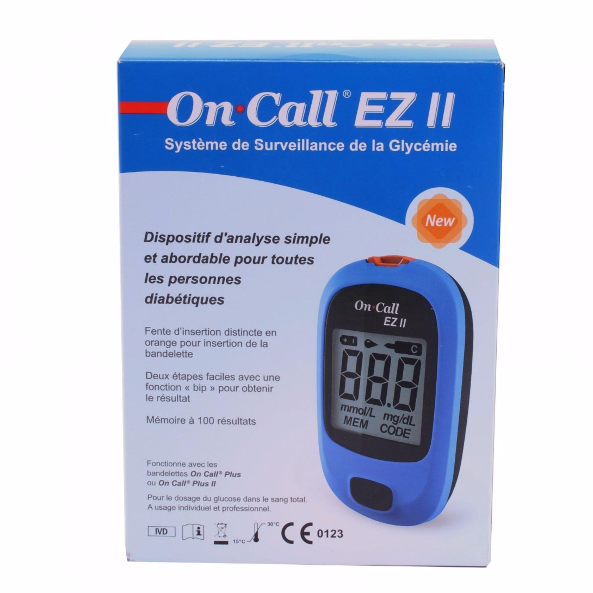 Harga Penawaran On Call Ez Ii Alat Cek Gula Darah Easy Touch Gcu Tes Diabetes Autocheck 3 In 1