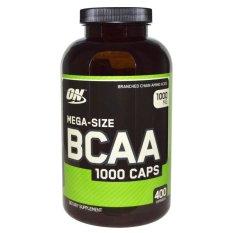 Optimum Nutrition BCAA - 400 Kapsul