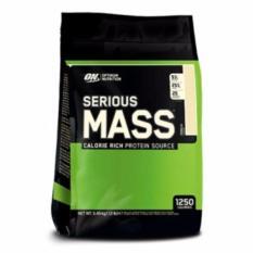 Optimum Nutrition Serious Mass - Vanila [12 Lbs]