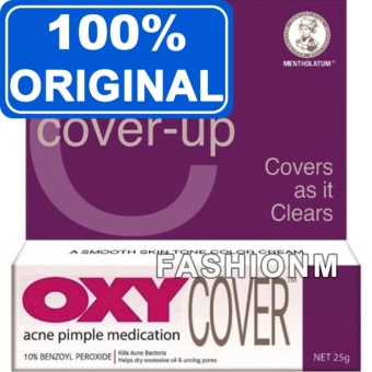 OXY Cover Acne Pimple Medication 25g Cover as it Clears - Obat Jerawat