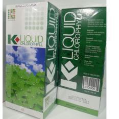 paket 2 botol Klorofil - Chlorophyll K Liquid KLink 1 botol isi 500 ml