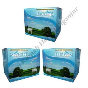 harga Paket 3 Boks Skygoat Susu Bubuk Kambing Etawa Rasa Original (1 bok isi 10 saset) Lazada.co.id
