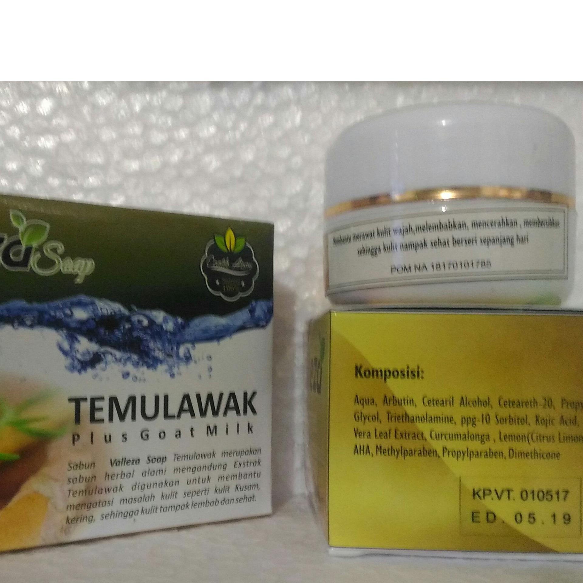Toner Serum Source · Paket Cream Temulawak Original Hologram Super Paket Komplit Cream .