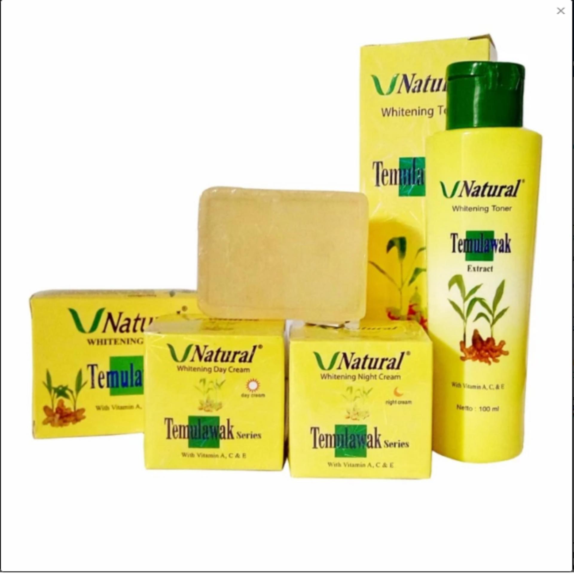 Harga Terendah Paket Cream Temulawak V Natural Bpom Krim Sabun Cheap Online Siang Malam Dan Toner Original