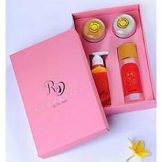 Paket ORIGINAL Cream RD BPOM-Pemutih wajah Hilangkan Noda dan Flek Diwajah Racikan Dokter Paket