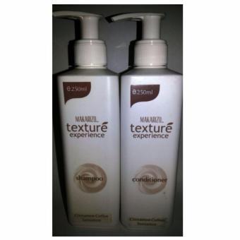 PAKET Shampoo Makarizo Texture Shampoo+Condi - CINNAMON COFFEE