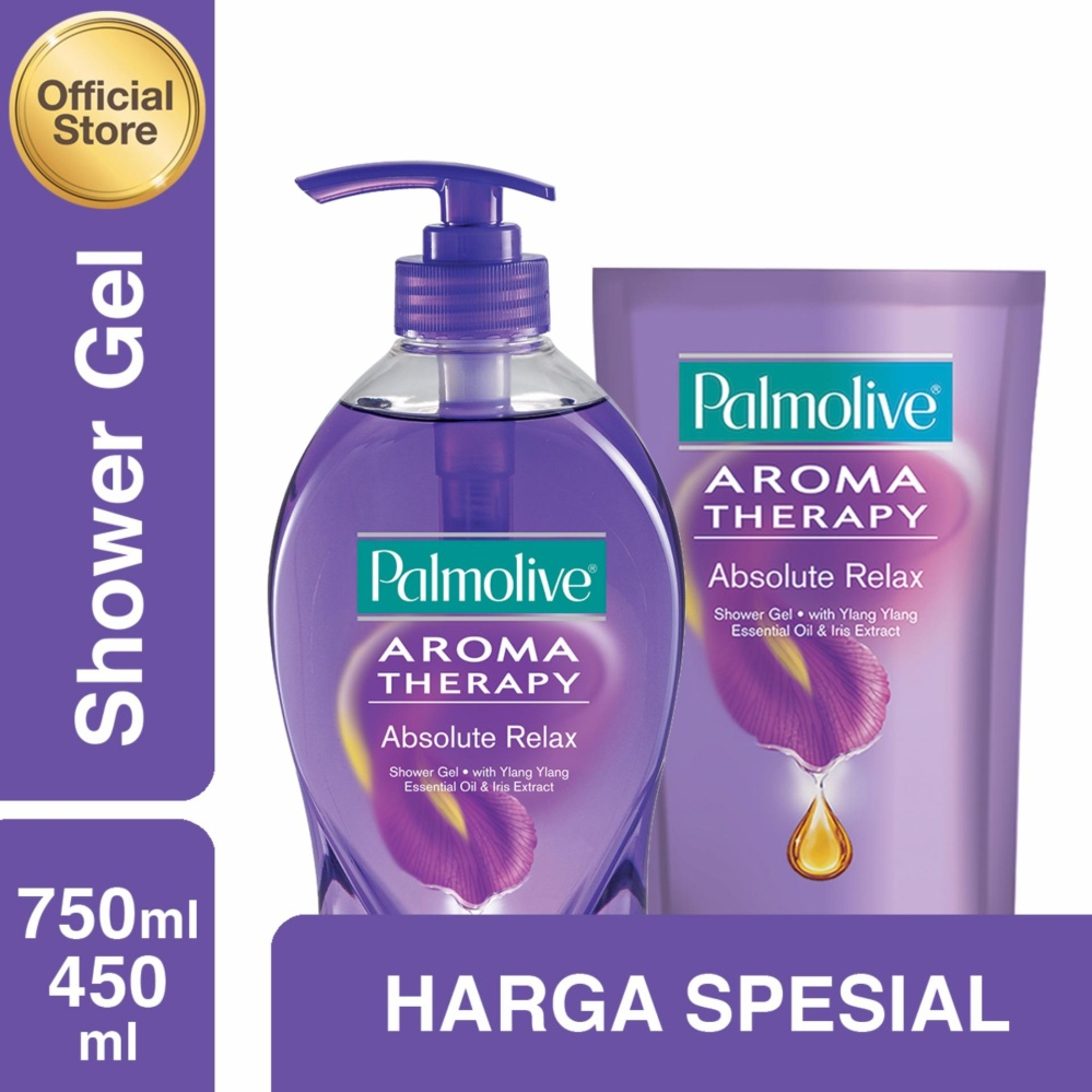 Palmolive Aroma Therapy Absolute Relax Shower Gelsabun Mandi Gel Sensual 750ml Refill 450ml Twinpacks Ayurituel Joyous 250ml Wikiharga Source