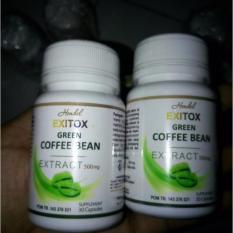 Pelangsing Herbal Exitox Green Coffee Bean Extract 500mg