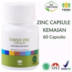 Penggemuk badan herbal tiens zinc 60 kapsul