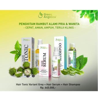 Penghitam Rambut Uban Secara Permanen Ampuh (Mengatasi Uban Parah) 100% Herbal dan ORIGINAL